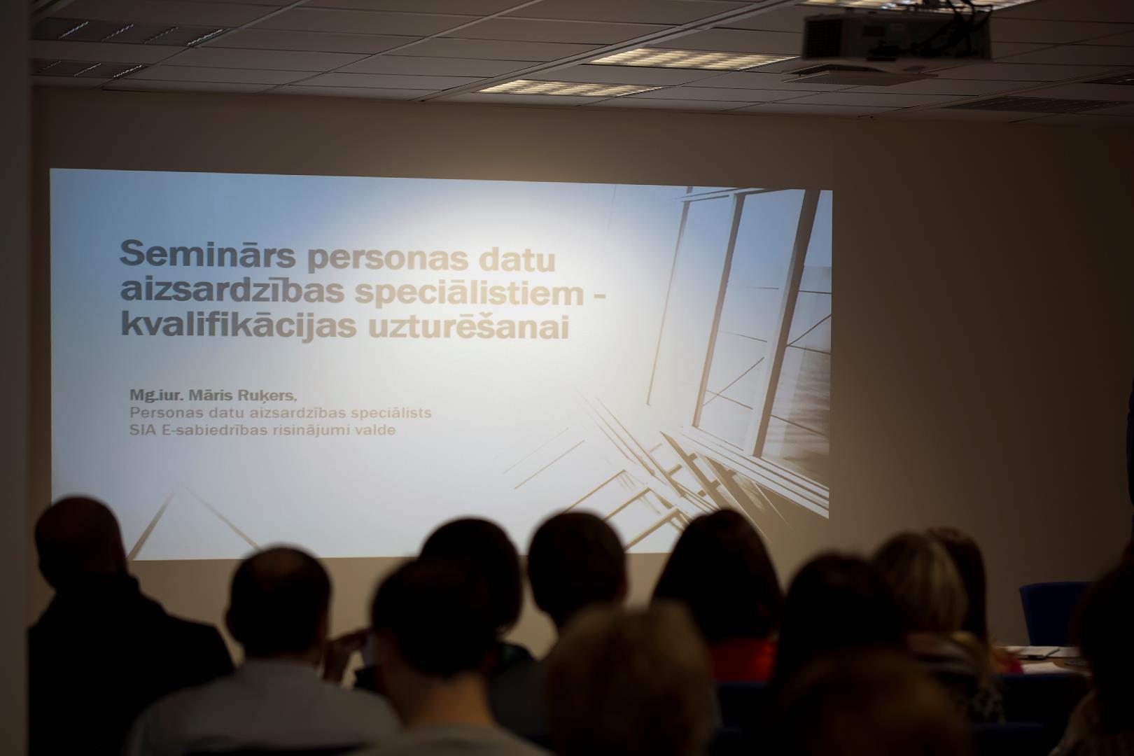Semināri personas datu aizsardzības speciālistiem